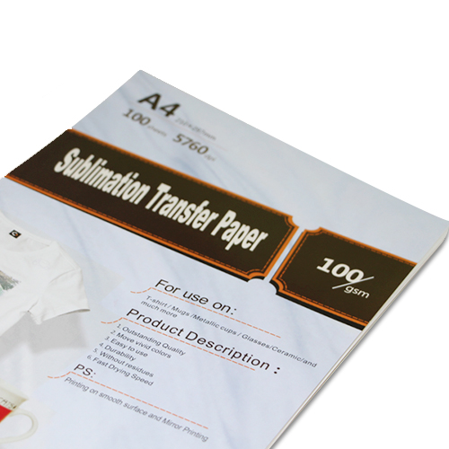 Sublimation A4 Size Heat Transfer paper