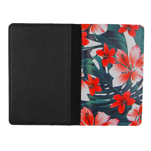 Sublimation Leather Passport Holder