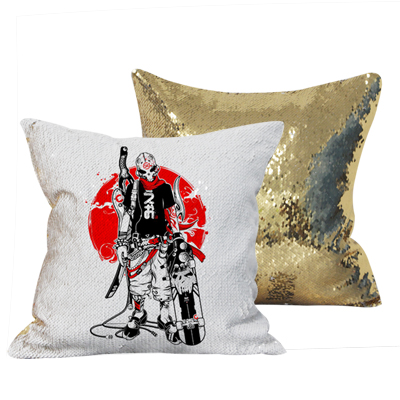 40*40cm Gold Sequin Cushion Case